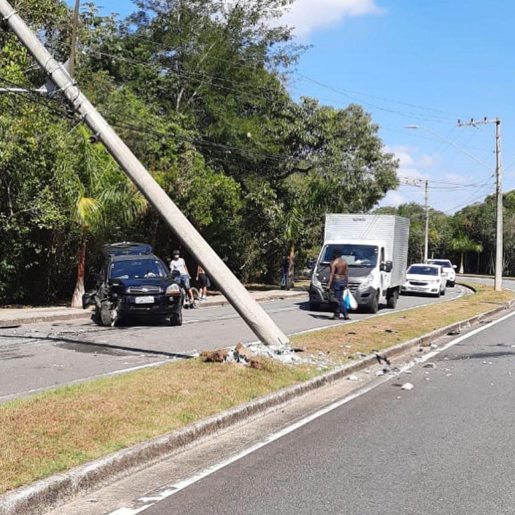 Oeste Life: Acidente de trânsito no Urbanova deixa parte do bairro sem energia
