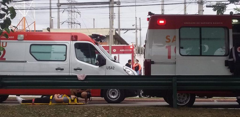 Leste Life: Ônibus se chocam na avenida Pedro Friggi e deixam 16 feridos