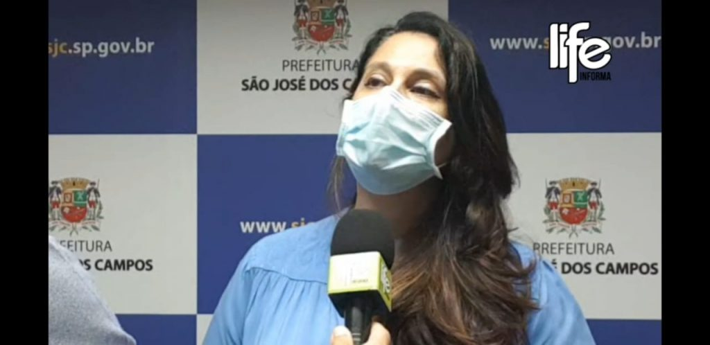 Secretária Margarete Côrrea explica sobre o recebimento de pessoas de outra cidade em leitos joseenses