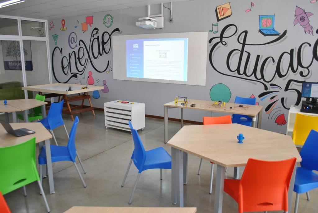 Escolas municipais terão inovações e parceria com o Google