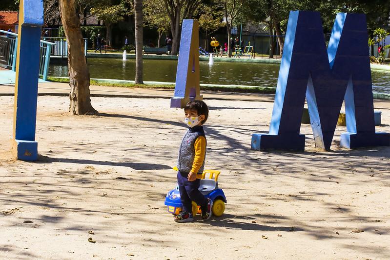Após mais de um ano fechado, Parque do Santos Dumont volta a ter vida