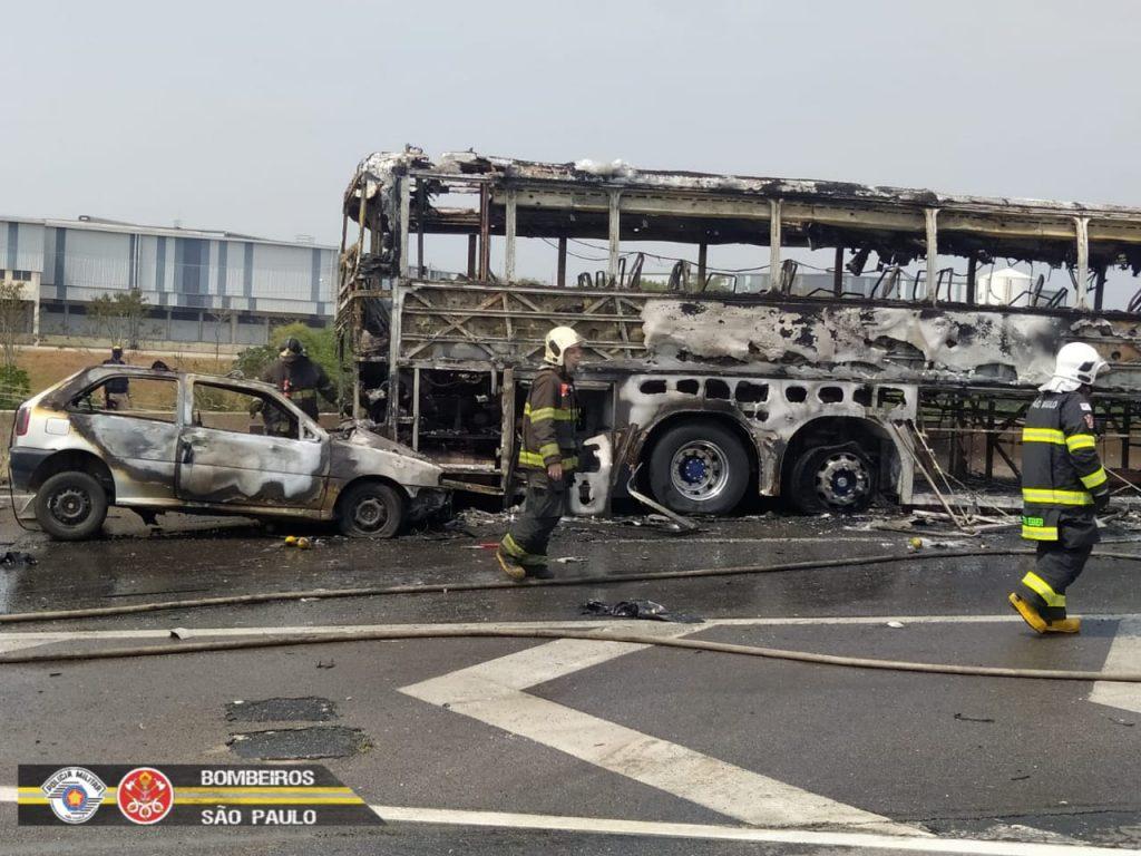 """Maioria das vítimas do acidente na Dutra estava """"de saidinha"""" do presidio de Tremembé"""