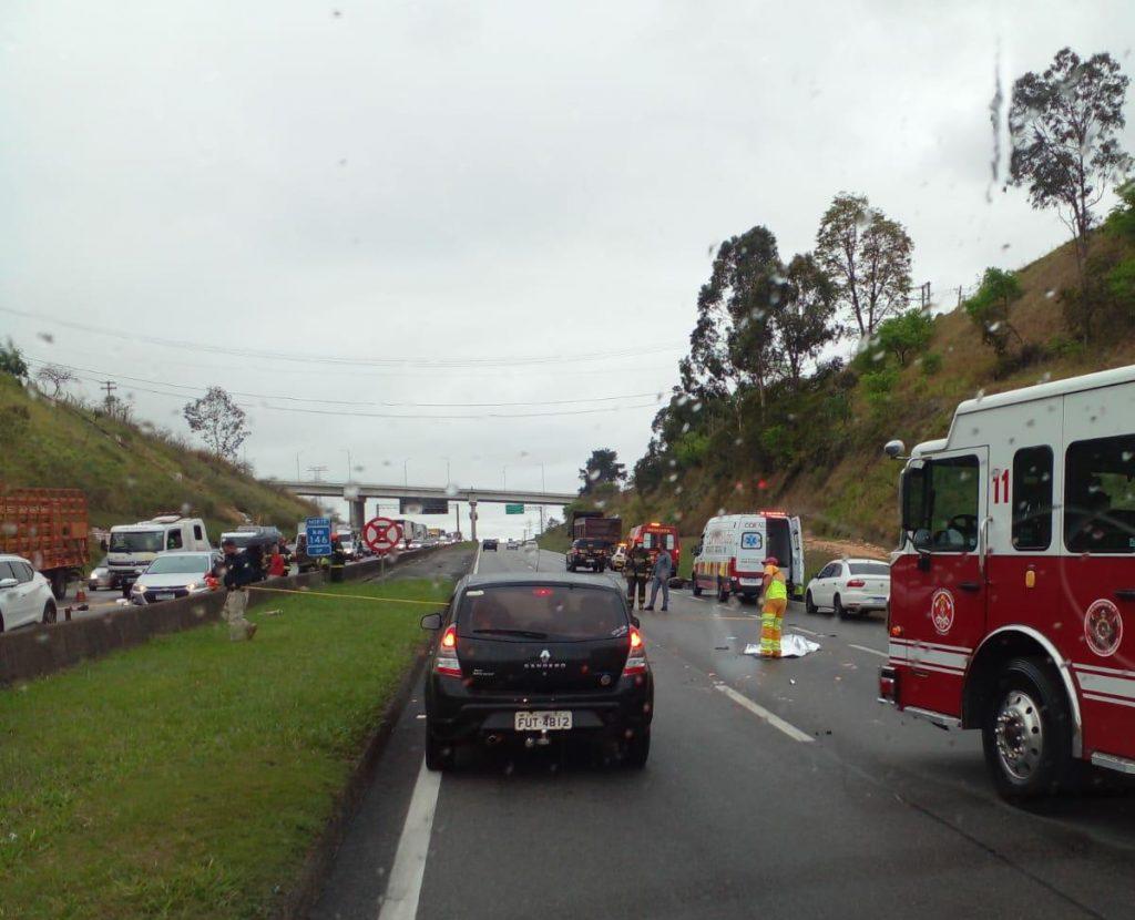 Dutra registra dois acidentes fatais com motociclistas nesta manhã em São José