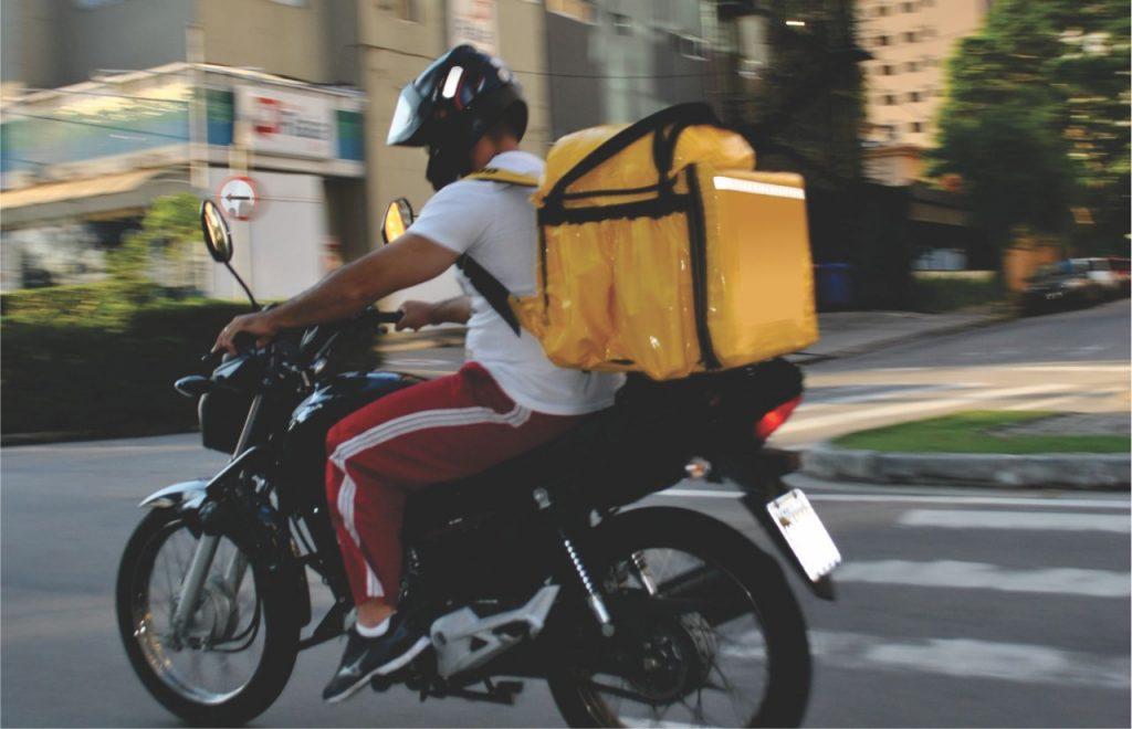 Contra a soberania dos aplicativos, motoboys protestam e paralisam entregas nesta semana em São José