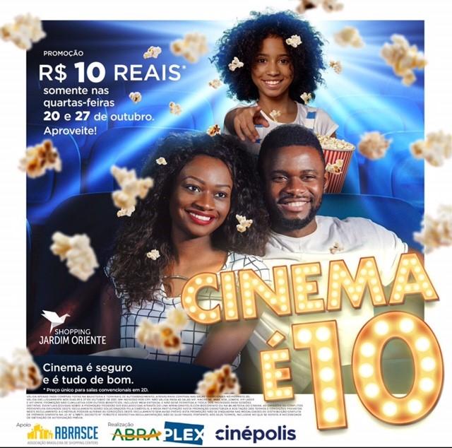 Sul Life: Cinema terá sessão a R$10 para todos os filmes, incluindo estreias!
