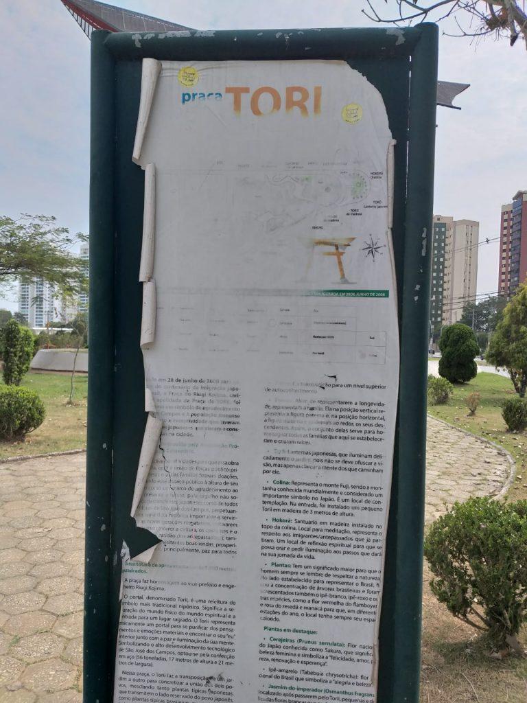 Aquarius Life: Vandalismo e depreciação na Praça do Tori